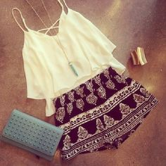 Love this summer look from Sheinside #livinginfashion