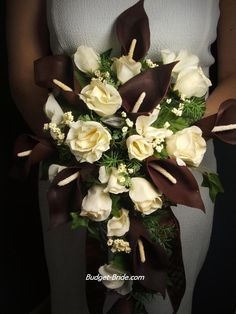 Brown Bridal Bouquets (Brown Wedding Flowers)