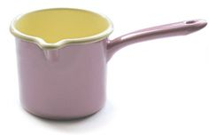 Ancient Industries Pink Milk Pot.  After 2 years of drinking hot chocolate, I can assure you this is a necessary item.