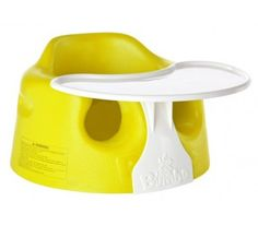 Bumbo Seat With Tray Yellow | The One Stop Baby Shop | Baby Bunting $69