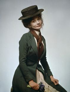.Audrey from my fair lady..Audrey and Thandie kind of resemble.. The delicate faces do.