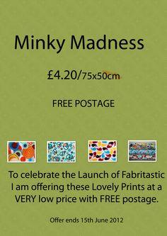 Robert Kaufman Printed Minky  http://www.facebook.com/Fabritastic