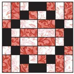 Free quilt block---Hug Block Skill Level BEGINNER Finished Block Size 16x16