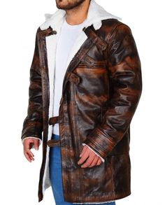 "One of the best outfit ""Distress Tom hardy Bane Coat"" is now on sale, Make an order and make it yours at very reasonable prices, Leather Collar, Leather Jacket, The Dark Knight Rises, Tom Hardy, Bane, Distressed Leather, The Darkest, Faux Fur, Toms"