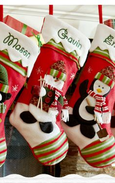 Personalized Christmas Stockings at Personal Creations