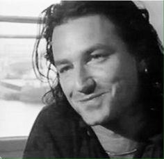 U2's Bono circa Rattle & Hum Era. U2 Poster, Bono Vox, Rattle And Hum, Zoo Station, Paul Hewson, Larry Mullen Jr, Irish Boys, Charming Man, Looking For People