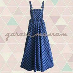 Overall Flared Skirt - Gingham Blue Black seharga Rp190.000. Dapatkan produk ini hanya di Shopee! http://shopee.co.id/garasi_mamam/4951147 #ShopeeID