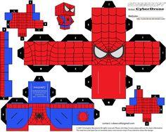 Cubee - Spider-Man by CyberDrone.deviantart.com on @deviantART