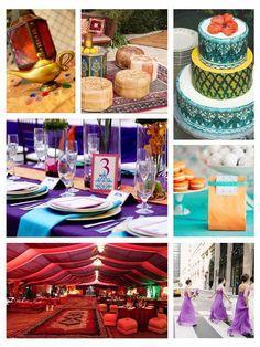 """Aladdin"" Aisle Ready: Fairy Tale Incorporated Weddings"