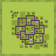 War Base Town Hall Level 7 By ash / cross (ash / cross 2 TH 7 Layout)