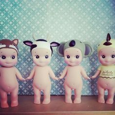 Cute sonny angels from #soufflemadrid