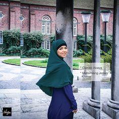 Modern Abaya & medlong Jersey Khimar