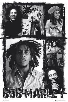 Bob Marley : Collage - Maxi Poster x new and sealed Bob Marley Legend, Reggae Bob Marley, Bob Marley Art, Bruce Lee, Eminem, Bob Marley Smoking, Jamaica, Arte Do Hip Hop, Rasta Art