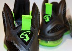 half off b22ea a060e Nike LeBron 9 Dunkman - Swingman Logo Sample - SneakerNews.com