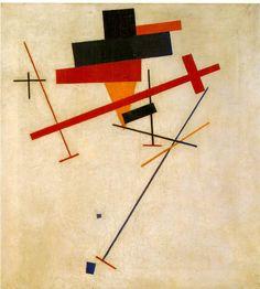 Kazimir Malevich, Suprematist Painting, 1915-16