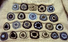 View album on Yandex. Knitting Paterns, Crochet Stitches Patterns, Hand Knitting, Knitted Poncho, Crochet Cardigan, Knit Crochet, Irish Lace, Crochet Clothes, Sewing Crafts