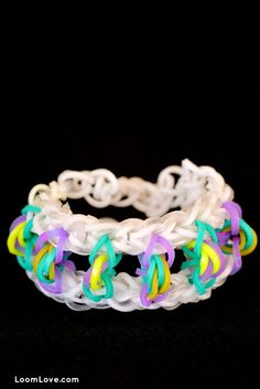 How to Make a Rainbow Loom Paper Lantern Bracelet