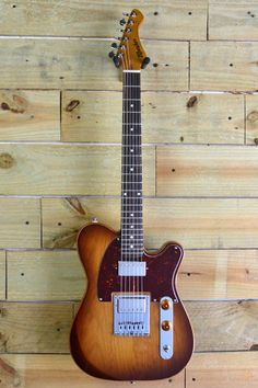 Moniker Guitars Dixie 2015 Gloss/ Iced Tea Burst, Ships FREE with hardshell case | Reverb