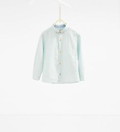 Linen shirt-TOPS-BOY | 4-14 years-COLLECTION AW16 | ZARA United States
