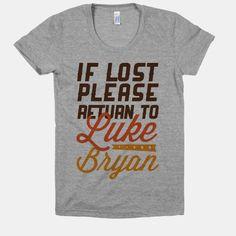 If Lost Return to Luke Bryan | HUMAN