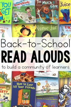 Great list of books and read alouds perfect for back to school that help build and foster a classroom community, and help teach rules, procedures, responsibility, and expectations. Ideas for back to school speech therapy! Teaching Rules, Help Teaching, Teaching Ideas, Teaching Procedures, Rules And Procedures, Teaching Activities, Teaching Math, 1st Day Of School, Beginning Of The School Year