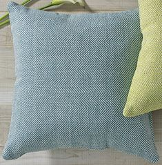 "Blue Herringbone Pillow Cover - 18"" - 1 piece Split P https://www.amazon.com/dp/B077ZL5VWJ/ref=cm_sw_r_pi_dp_U_x_MtbRAbHMBEHQR"