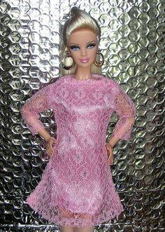 Pink lace dress - Barbie Basics