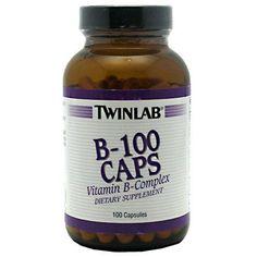 B-100 Caps 100 ea, Twinlab, Vitamins / Minerals #bodybuilding #sport #sportsnutrition #gym #vitamins #minerals https://monsternbeast.com/shop/b-100-caps-100-ea-twinlab-vitamins-minerals/