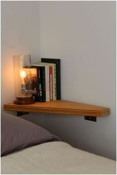 12 simple nighstand for small bedroom.