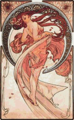 Dance  Counted Cross Stitch CHART by TheArtofCrossStitch on Etsy, $8.99