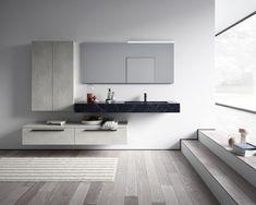 Dette badet får klesdesigner Maria Skappel Holzweiler i drømmemodus - Modena Fliser Albedo, Videos Online, Double Vanity, Interior Design, Bathroom, Torino, Genere, Popular, Group