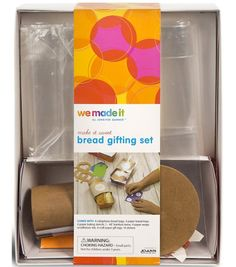 we made it by Jennifer Garner Bread Gifting Set Make it Sweet Series Here's a fun project that you and your child can enjoy making together! Prepare delicious homemade bread and wrap it up as special gifts for friends and family with this gifting set. Bread Gifts, Bread Starter, Design Guidelines, Skills To Learn, Jennifer Garner, Sweet Bread, Fun Projects, Gifts For Friends, Special Gifts