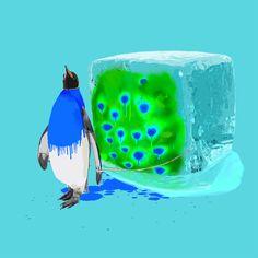 pinguino (m) = penguin