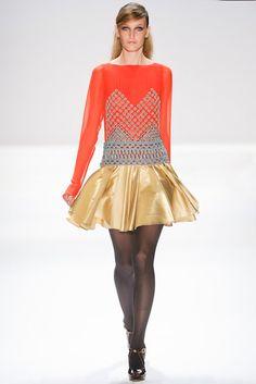New York Fashion Week: Nanette Lepore, Fall 2012
