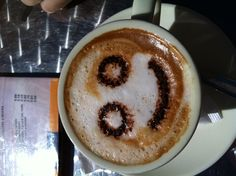 Coffe smile