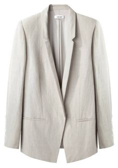The coolest linen jacket around from Helmut Lang