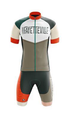 Cycling kit designs for the Fayetteville Wheelmen Cycling Club Bike Wear, Cycling Wear, Cycling Jerseys, Cycling Bikes, Cycling Outfit, Cycling Clothes, Radler, Bike Kit, Sport Bikes