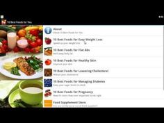10 Best Foods for You mobile app for Android devices
