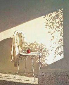 Colin Fraser, Secret Shadows - egg tempera on panel, Gallery ID# Painting Inspiration, Art Inspo, Guache, Still Life Art, Beautiful Paintings, Watercolor Paintings, Watercolor Trees, Art Drawings, Illustration Art