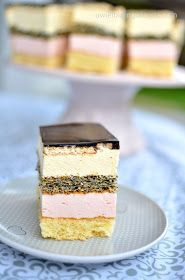 Ciasto Kopciuszek Polish Recipes, Cake Flavors, Food Cakes, Sweet Desserts, Vanilla Cake, Cake Recipes, Cheesecake, Good Food, Birthday Cake