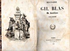 Histoire de Gil Blas de Santillane   VITALIVROS