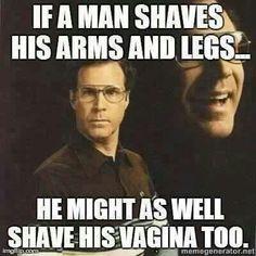 Funny pics - guys shaving lol