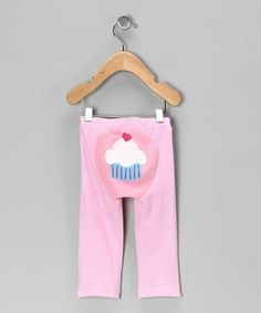 Take a look at this Pink Stripe Cupcake Pants - Infant & Toddler by Moshi Moshi on #zulily today!