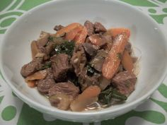 Beef and Bok Choy Hot Pot