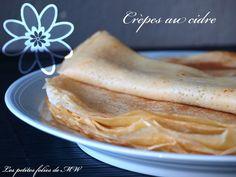 #Crêpes au #cidre {spécial #Chandeleur}