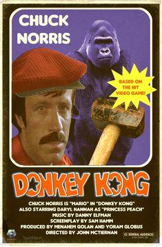 #chucknorris in #donkeykong  http://hartter.blogspot.com/