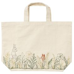 Meadow Friends Tote + Spring Celebrations + CoralandTusk