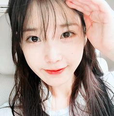 Image about kpop in IU by Mira on We Heart It Iu Short Hair, Short Hair Styles, Pretty Korean Girls, Beautiful Asian Girls, Pretty Girls, Nayeon, The Dark World, Iu Fashion, Beautiful Voice