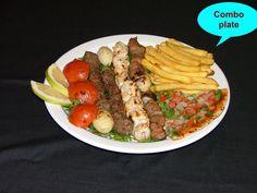 Lamb kabob , Lebanese food