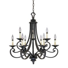 Shop Designers Fountain  9039-NI Nine-Light Messina Chandelier at ATG Stores. Browse our chandeliers, all with free shipping and best price guaranteed.
